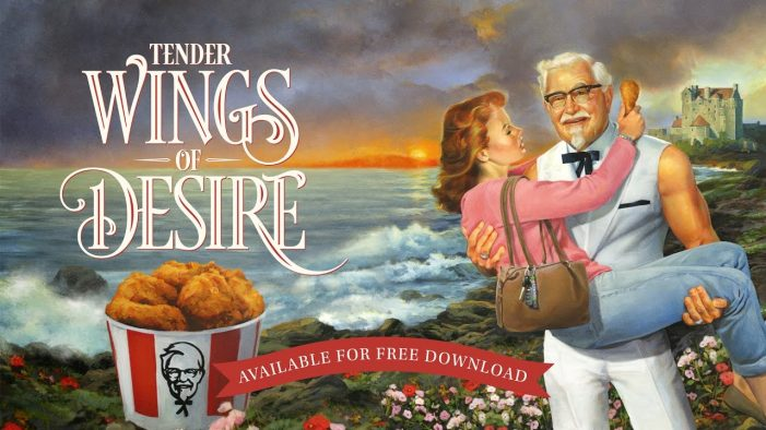 KFC Release Mother's Day Romance Novel Starring Colonel Sanders