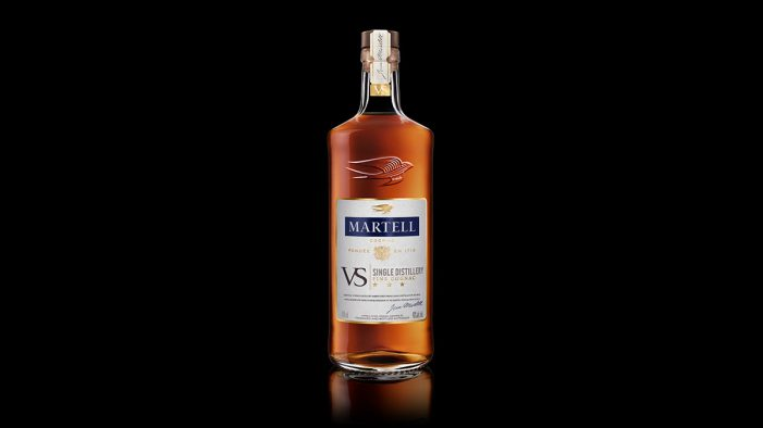 Martell Launches Martell VS Single Distillery with Packaging Design by Nude Brand Creation