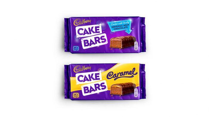 Robot Food Brings the Joy to Cadbury Cake Bars with New Design