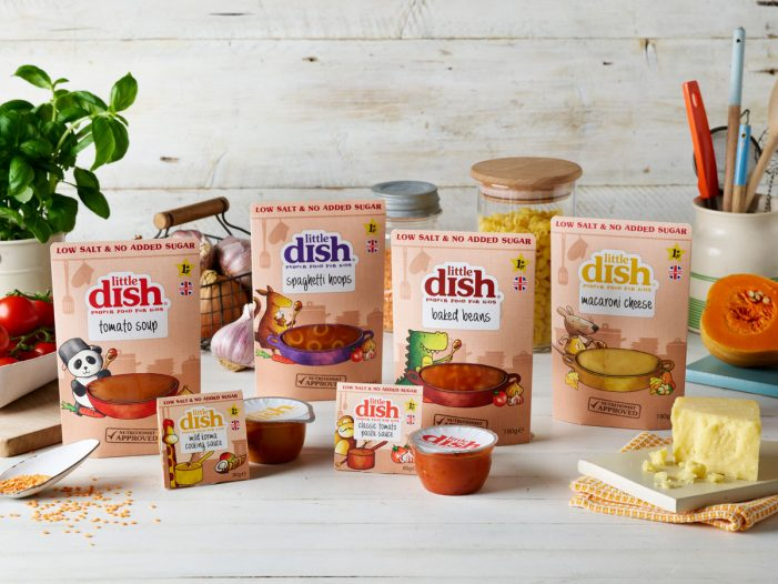 Pearlfisher Takes Little Dish into the Kitchen Cupboard with New Range of Sauces and Family Favourites