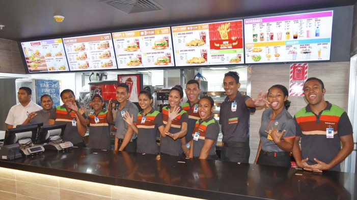 Burger King Opens New Airport Outlet in Fiji