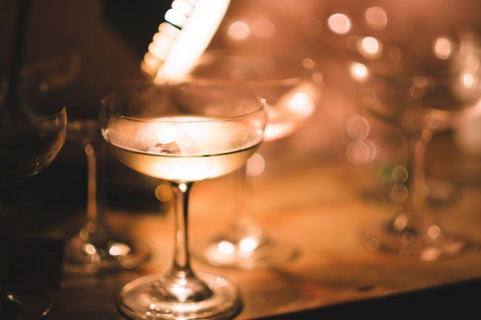 Sparkling Wine Bar Pops Open in Lights of Soho for Summer