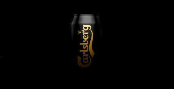 Carlsberg Black Gold Pilsner is Back in Black as Part of Kontrapunkt's Redesign