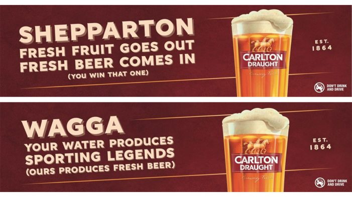 Carlton Draught Takes Road Trip to Iconic Regional Cities in Australia