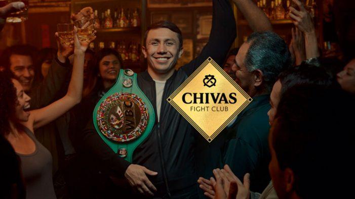 "Chivas Regal Team with Middleweight Champion Gennady ""GGG"" Golovkin to Launch The Chivas Fight Club"