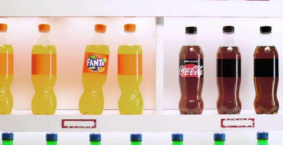 Coca-Cola Creates Sustainable Ad Out of Recycled Packaging