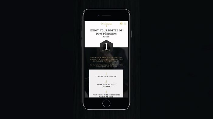 Dom Pérignon Teams with Thirstie to Launch its First On-Demand Delivery Pilot