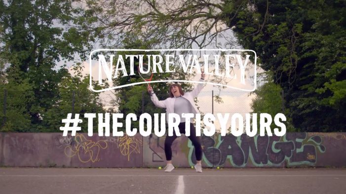 Nature Valley Encourages the UK to Go Outdoors and Pick up their Tennis Rackets