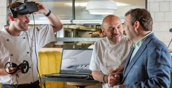 Lloyd Catering Equipment Sets Sights on Recipe for Success with Room-Scale VR Investment
