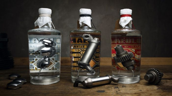 Serviceplan Embodies the True Spirit of Harley Davidson in Drinkable Form