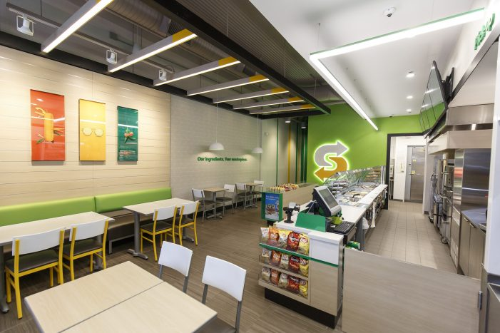 Subway Brings 'Fresh Forward' with New Restaurant Design and Customer Experience