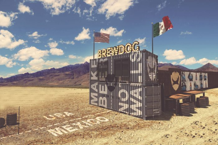 BrewDog Stunt Sees it Build Craft Beer Bar on the US-Mexico Border