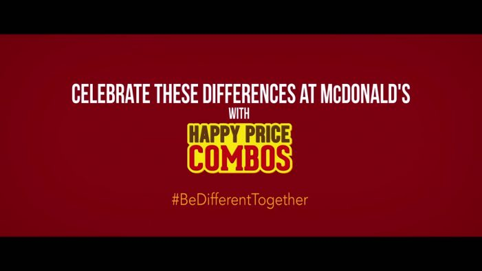 McDonald's Inspires Indians to #BeDifferentTogether with Independence Day Activation