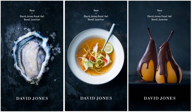 David Jones Unveils Campaign To Launch Their New Food Brand