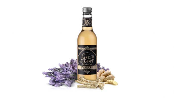 Lurvill's Launches 'Lavender Spice', their Low-Sugar Alternative to Ginger Beer