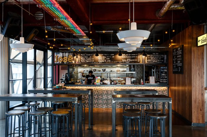 DesignLSM Designs Chef Jose Pizarro's New Street Food Concept in Canary Wharf