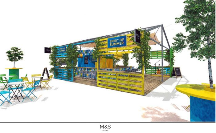 RPM Create M&S 'Spirit of Summer' Pop up in Leeds