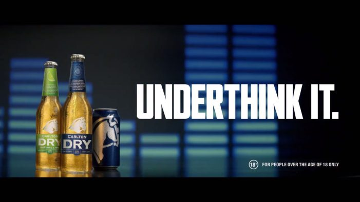 Carlton Dry Launches 'The Underthink Tank' in Latest Campaign by Clemenger BBDO