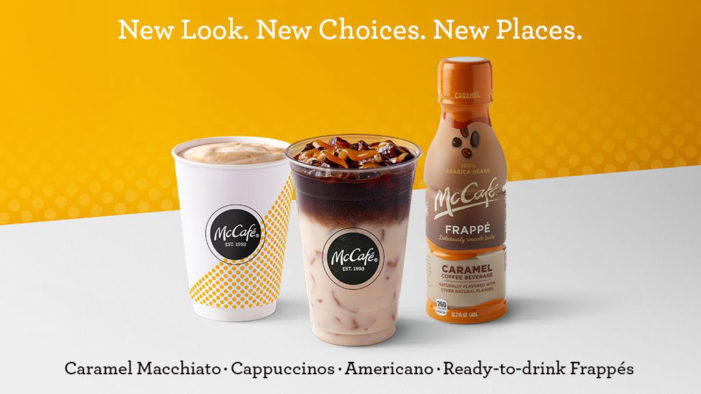 McDonald's Relaunches McCafe New Logo, Packaging and Advertising