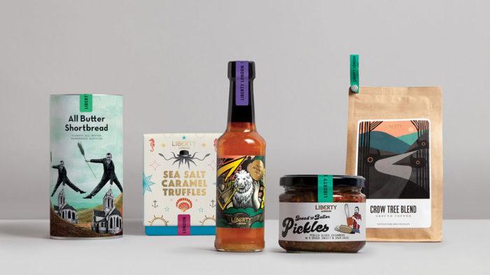& SMITH Brands Liberty London's New Food Range