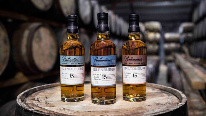Ballantine's Makes History with Launch of First Ever 15 Years Old Single Malt Series