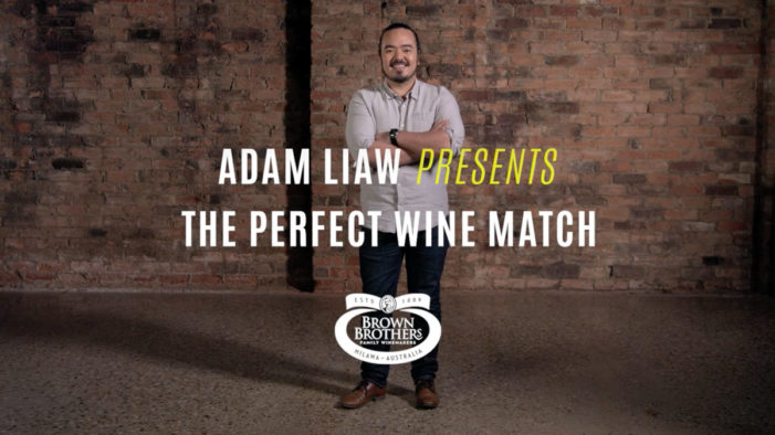 Cook Adam Liaw presents 'The Perfect Wine Match' for Brown Brothers via The Story Lab