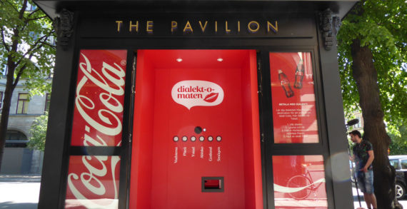 Coca-Cola Launches World's First Vending Machine which Accepts Dialect as Payment