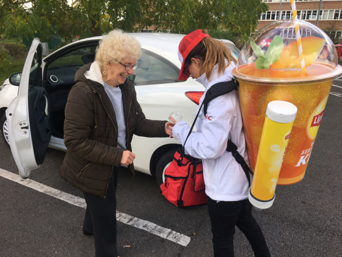 Lipton and KFC Team to Launch Five-Week Outdoor Mobile Sampling Campaign by Savvy