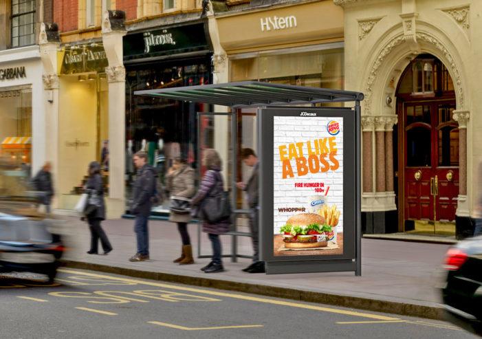Burger King Launch New Digital OOH Campaign Across London