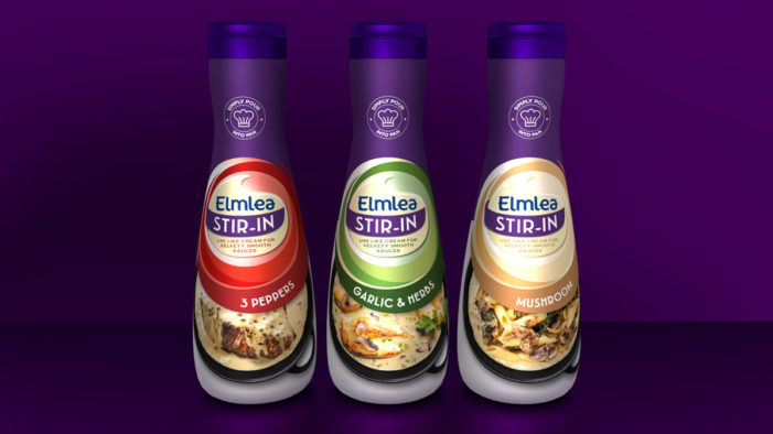 Unilever Launches New Elmlea 'Extra Creamy' and 'Stir In' Bottles to Mix up Mealtimes