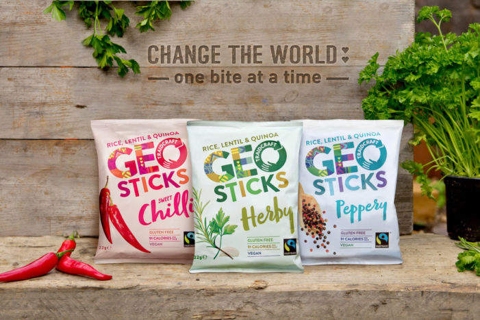 A Truly Guilt-Free Snacking Experience With Geosticks