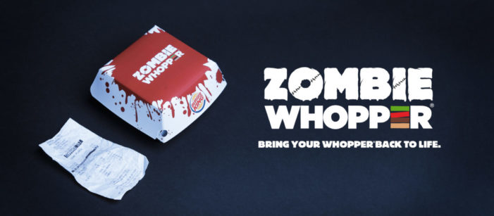 For Halloween, Keep Your Old Receipts, Burger King Brings Back To Life Your Whoppers