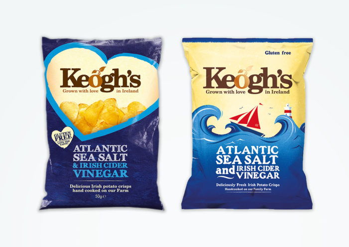 Keogh's Crisps Brand Redesign by Brandpoint