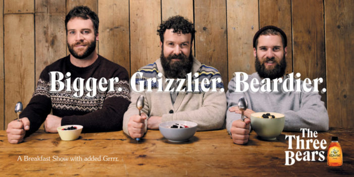 BMB Introduces The Three Bears Breakfast Cooking Show for Rowse Honey in Fabulous New Campaign