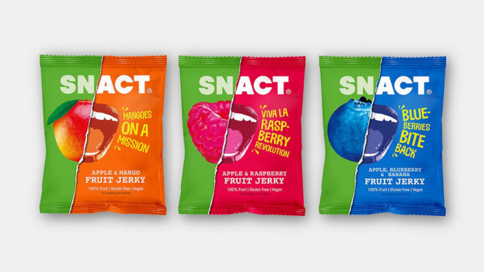 B&B Studio Joins the 'Delicious Protest' Against Fruit Waste with Rebrand of Snact