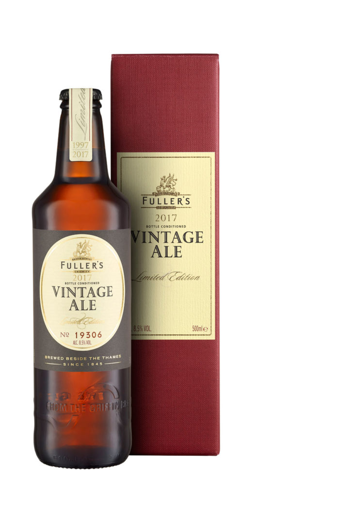 Fuller's launches Limited-Edition Vintage Ale 2017