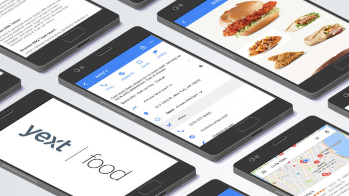 Yext Launches Yext for Food To Make Menus Visible Across Intelligent Search