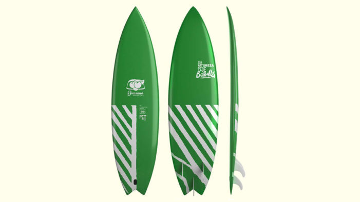 Guaraná Antarctica Unveils Surfboard Made Out Of Recycled PET Bottles