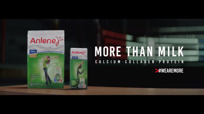 Got Milk? Whatever – #WeAreMore Says New Campaign from Anlene via BBDO Singapore