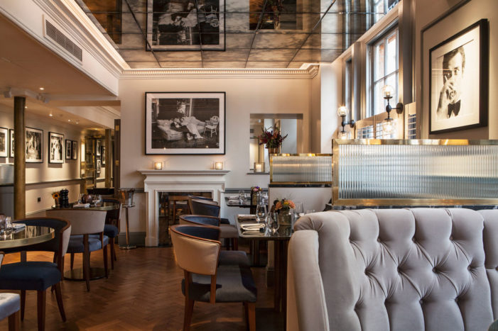 DesignLSM Creates the Interiors for GBR Restaurant at Dukes Hotel London