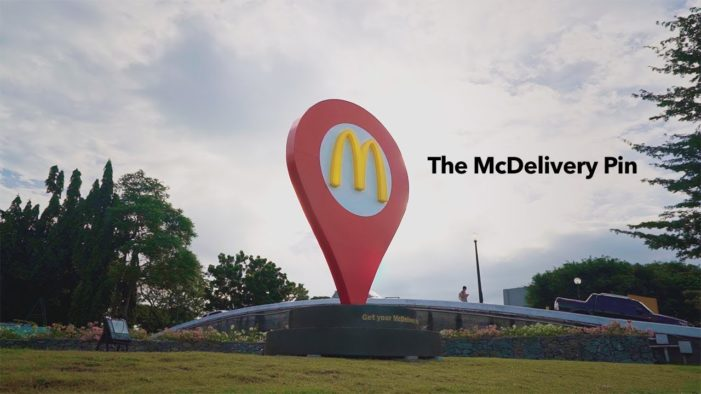 McDonald's and Leo Burnett Manila Help Feed Families with the McDelivery Pin on All Soul's Day