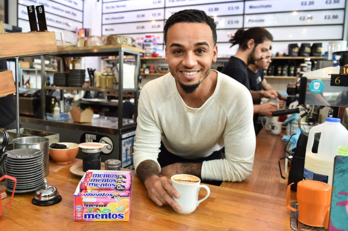 Mentos Team with Aston Merrygold to Help People Break the Ice on #WorldHelloDay