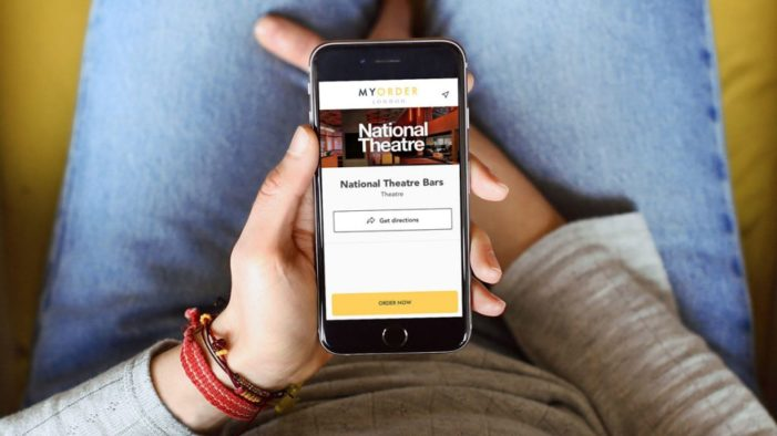 Theatre lovers can skip the refreshment queue with MyOrder London