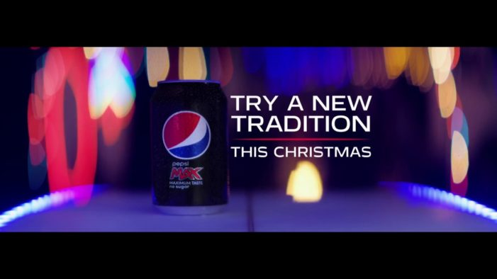 Pepsi Max Encourages People to Try New Traditions in Latest Christmas Ad