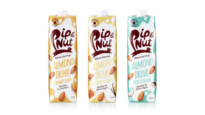 B&B Studio Brings Wit and Vitality to Competitive Sector with Pip & Nut Almond Drink