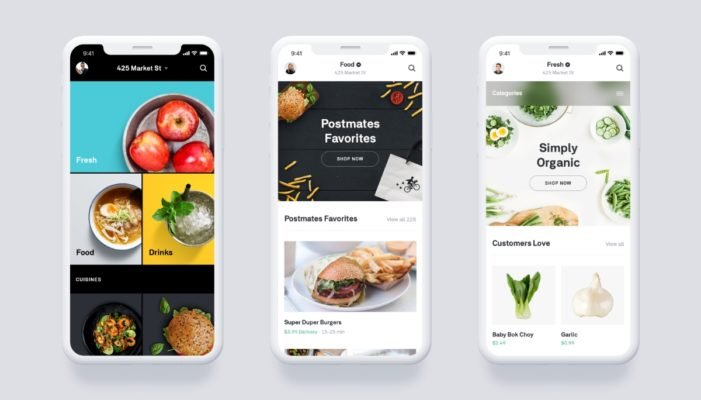 Postmates Launches Updated App Along with Dedicated Grocery Service
