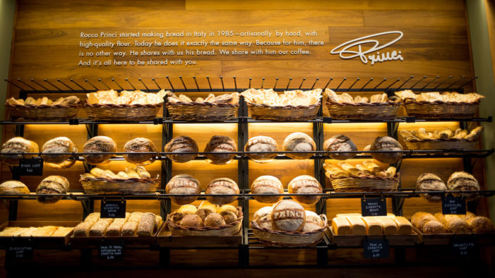 Starbucks Brings Renowned Italian Princi Bakery to the US