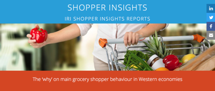 IRI Shopper Insights Highlight Growth in Popularity of Specialist Stores Over Mass Market
