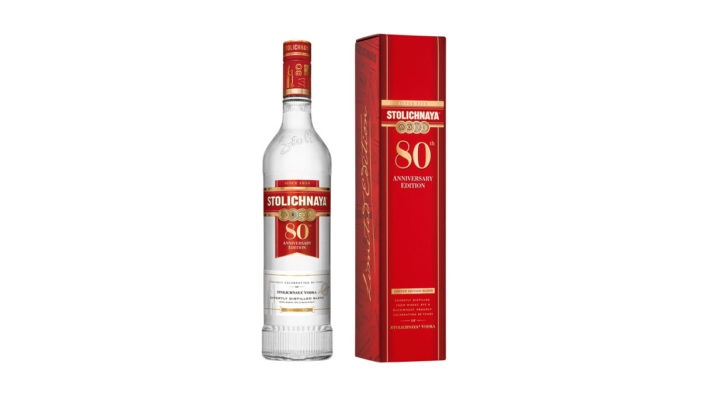 Stoli Vodka Releases Limited Edition Recipe, Bottle and Gift Box to Mark 80th Anniversary