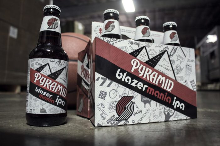 Pyramid Brewing Co. Brews an IPA for the Portland Trailblazers